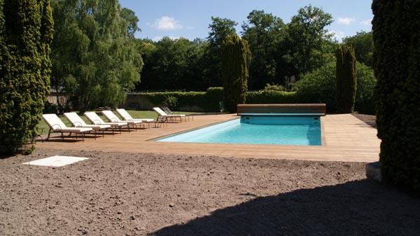 Terrasse en bois – piscine