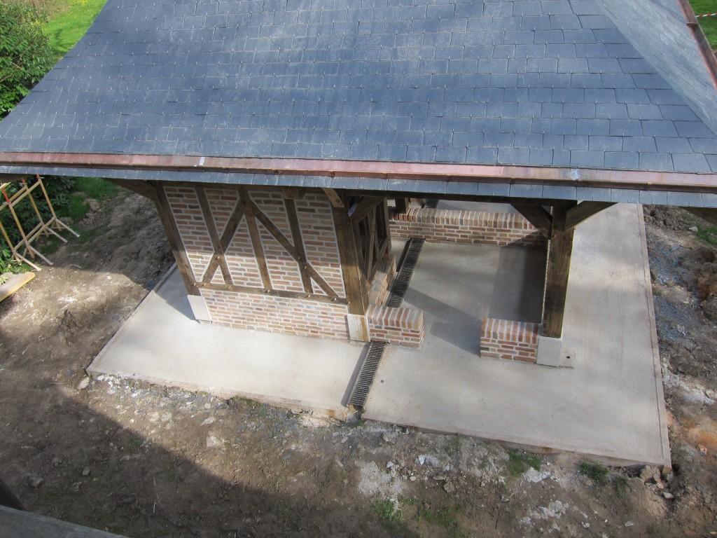 Kiosque à ossature bois