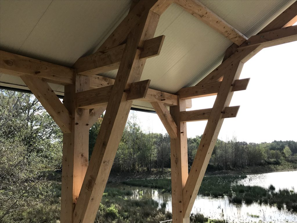 Cabane de pêche en sologne
