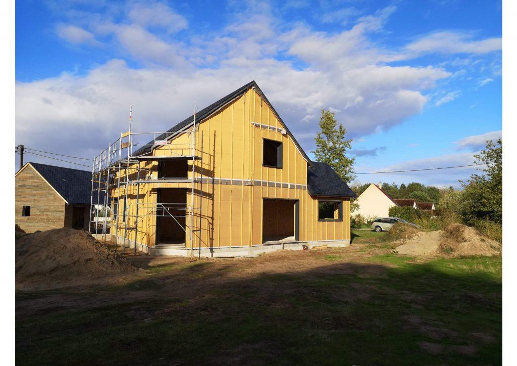 Maison à Ossature Bois à Thoury