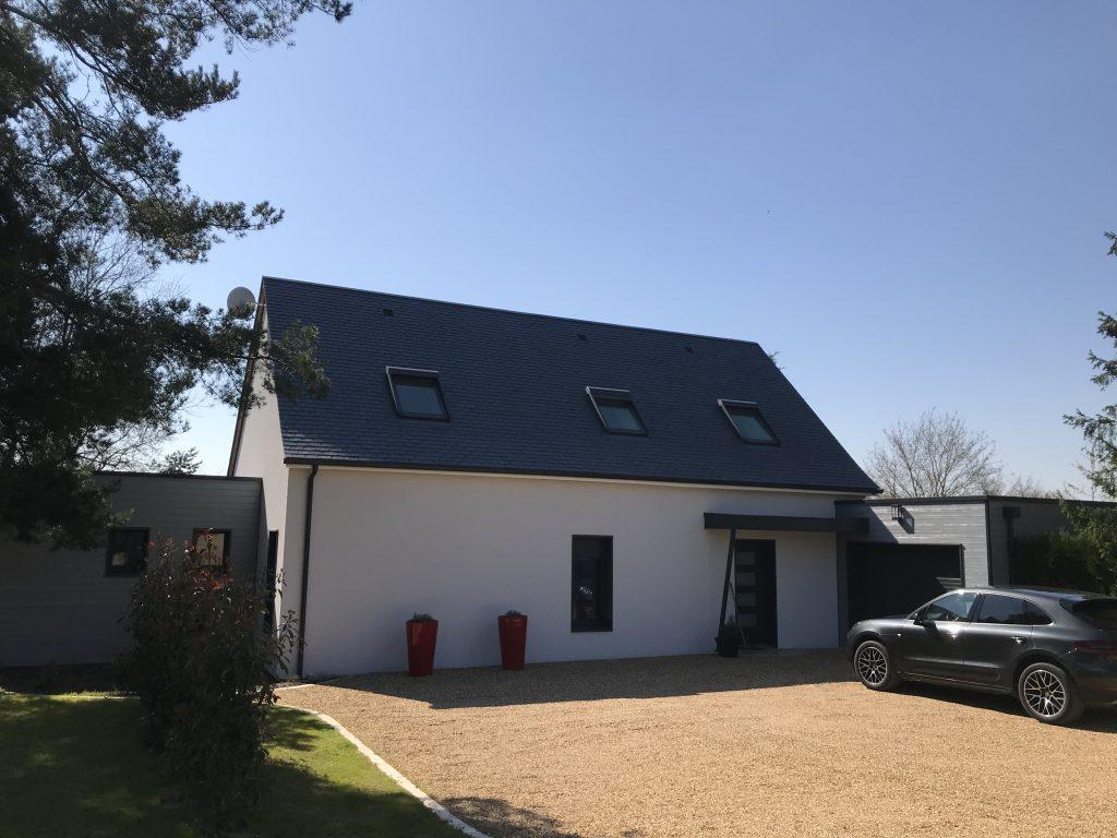 Maison à Ossature Bois à Vineuil (41)